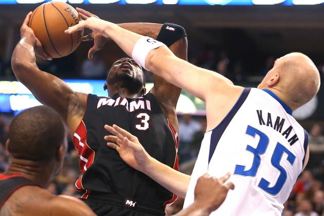 Chris Kaman Is Not a Fan of Dwyane Wade but Likes LeBron James