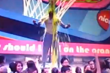 Video: Dwight Howard Gets Slimed at Kids' Choice Awards