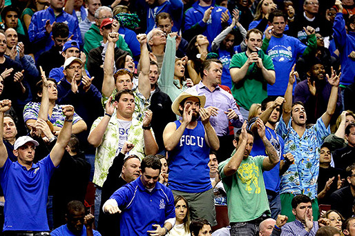 Florida Gulf Coast Apparel Sales Soar on NCAA Success