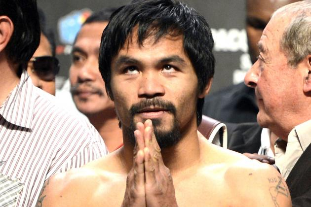 Manny Pacquiao Announces Return to Boxing for September 2013