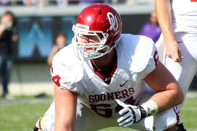 Gabe Ikard Likely to Miss Rest of Spring Practices with Broken Hand