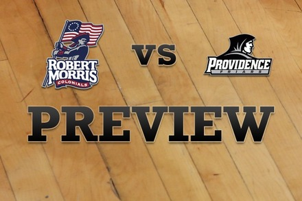 Robert Morris  vs. Providence: Full Game Preview