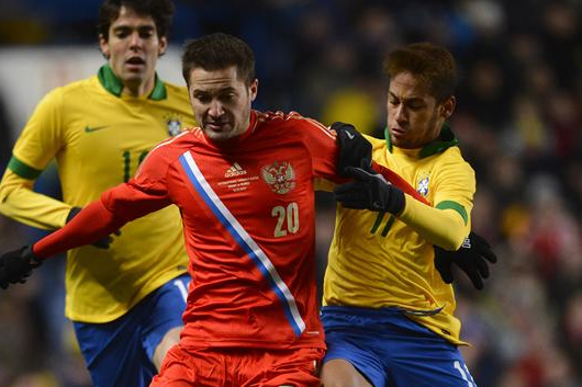 Late Equaliser Denies Russian Win vs. Brazil