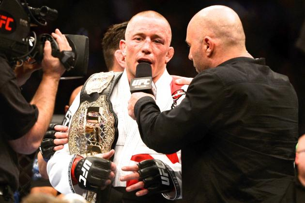 Hayabusa Pulls Georges St-Pierre Rising Sun Gi After Korean Zombie Complaint