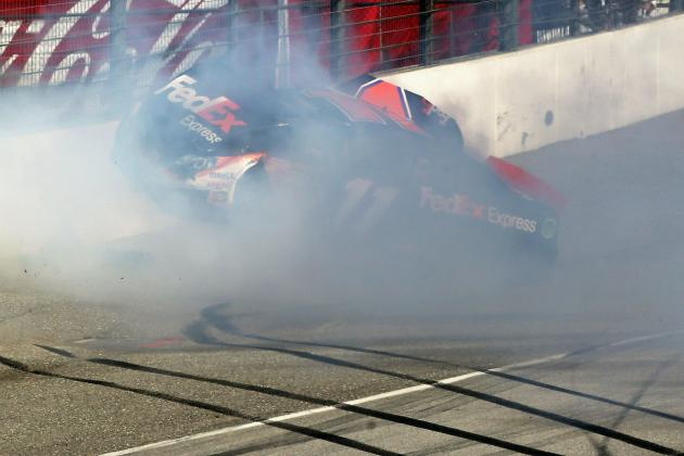 Denny Hamlin Update: Latest News on Back Injury from Auto 400 Crash
