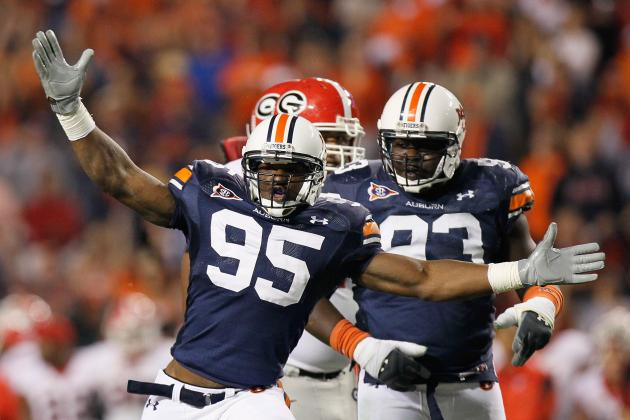 Auburn Defensive Line Looking to Live Up to Expectations in 2013