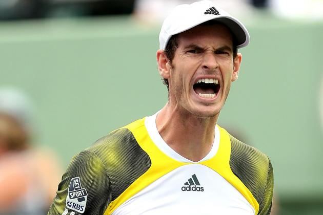 Andy Murray Makes Hard Work of Taming Grigor Dimitrov in Miami
