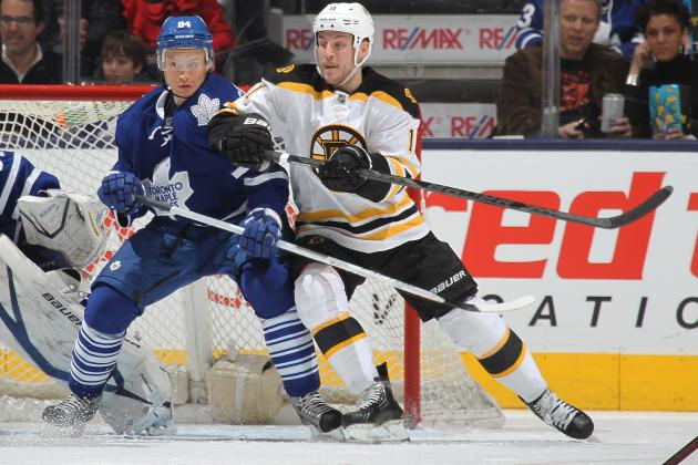 Toronto Maple Leafs vs. Boston Bruins - GameCast - March 25, 2013 - ESPN