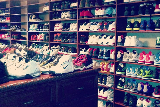 Chris Paul Previews Sneaker Room (PHOTO)