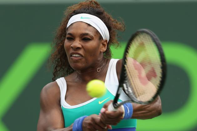 Serena Williams Barely Avoids Upset Bug