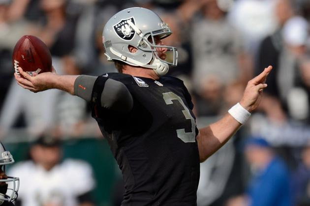 Why the Oakland Raiders Would Be Wise to Release Carson Palmer