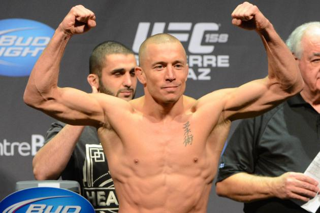 Georges St-Pierre Cast as Villain in Captain America: The Winter Soldier