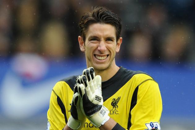 Brad Jones Prepared to Step into Liverpool Goal at Moment's Notice
