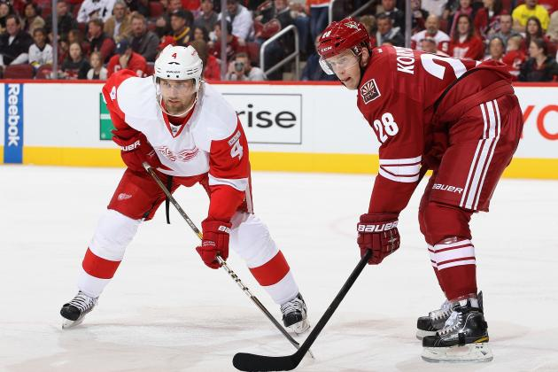 Detroit Red Wings vs. Phoenix Coyotes - GameCast - March 25, 2013 - ESPN