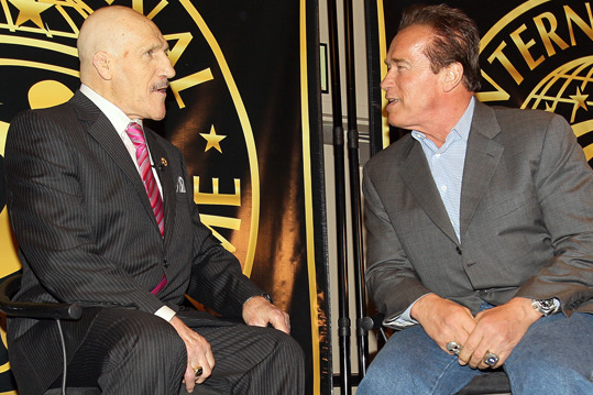 Arnold Schwarzenegger to Induct Bruno Sammartino into WWE Hall of Fame