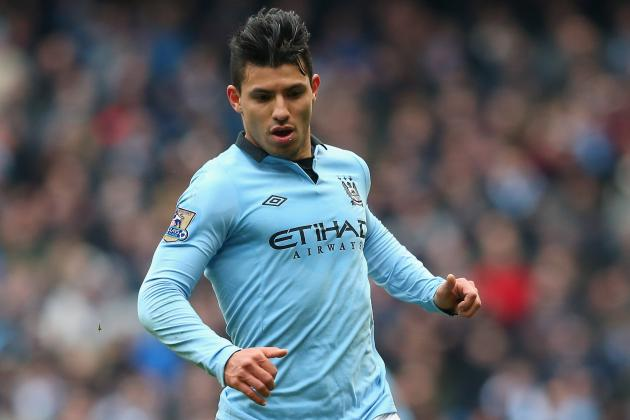 Barcelona Eye Up Manchester City's Sergio Aguero