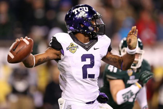 Patterson Says Boykin Still in TCU's QB Competition