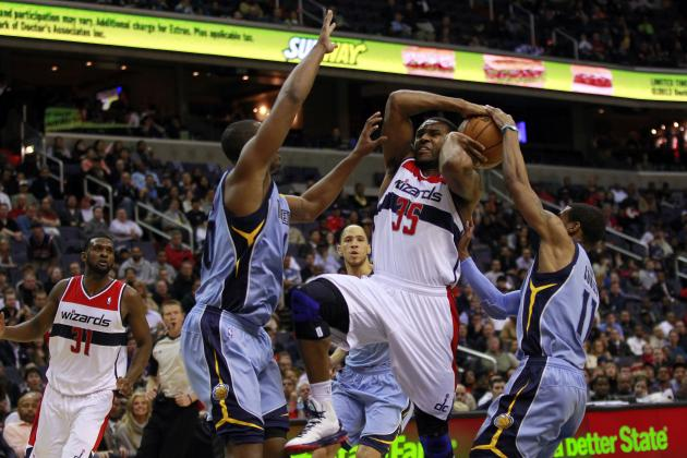 Grizzlies Slouch AGAIN on the Road. Wizards 107, Grizzlies 94