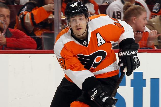 Flyers Forward Danny Briere Diagnosed with a Concussion