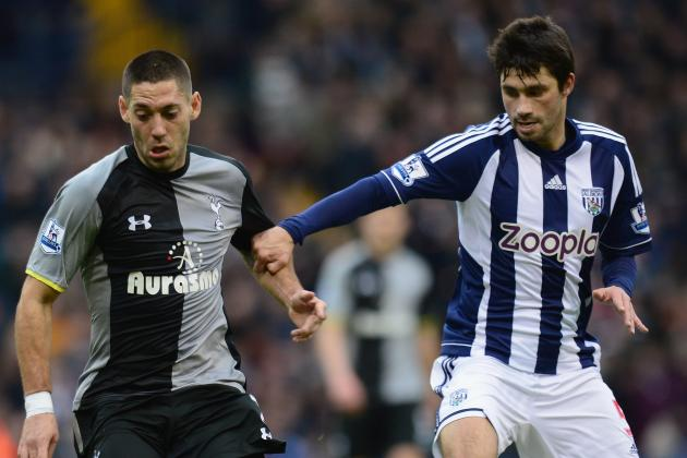 West Brom Midfielder Claudio Yacob Enjoying Premier League Life