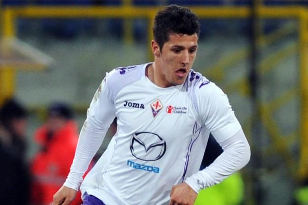 Fiorentina Star Stevan Jovetic Admits Interest in Arsenal Move
