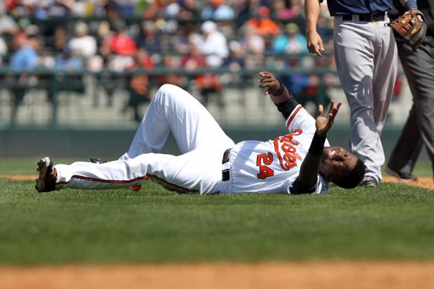 Wilson Betemit Sprains Knee, Could Lose Season for Orioles