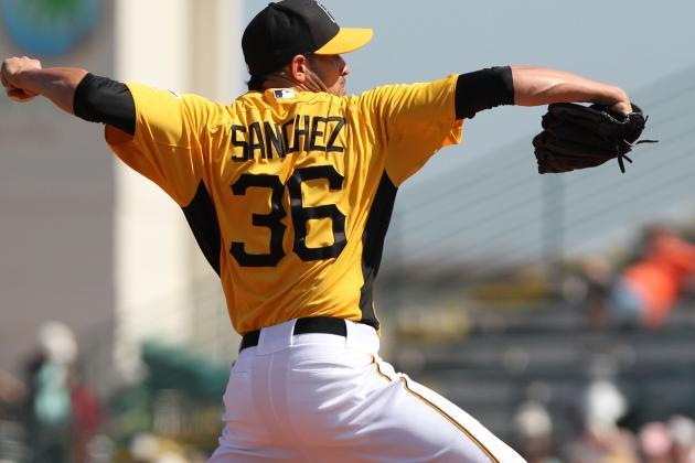 Jonathan Sanchez Makes the Pirates Rotation