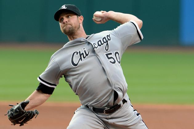 Danks Continues to Struggle with Velocity