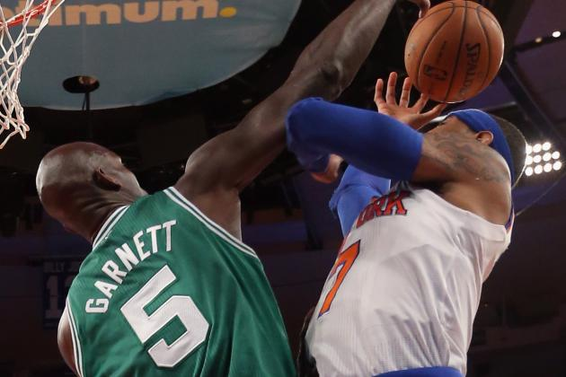 Knicks vs. Celtics: Kevin Garnett Will Be Too Big a Miss for Boston