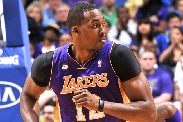 Dwight Howard Promises Payback Against David Lee for Elbow to Mouth