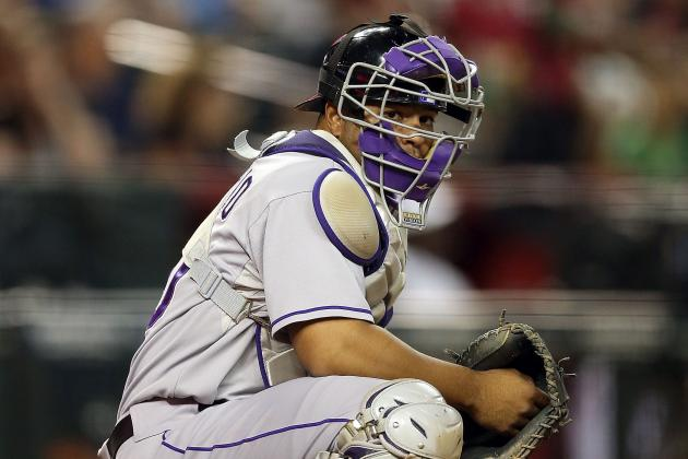 Rockies' Wilin Rosario Evolving into Major-League Power Hitter