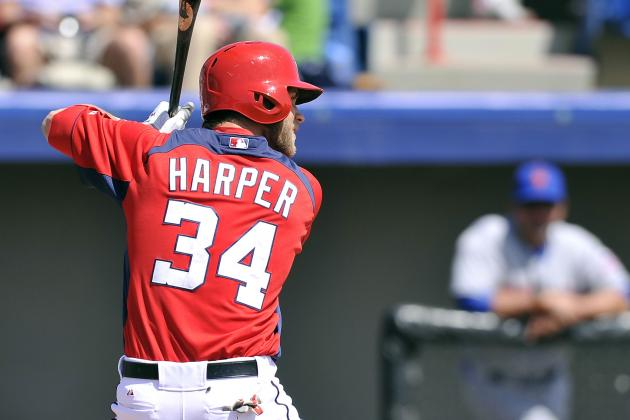 Harper Stays Hot with Three-Hit Game vs. Astros