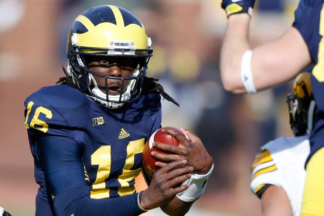 NCAA Football '14 Cover Man Denard Robinson Is Ready for the NFL Switch
