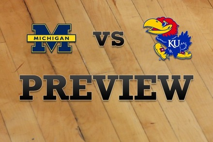 Michigan vs. Kansas: Full Game Preview
