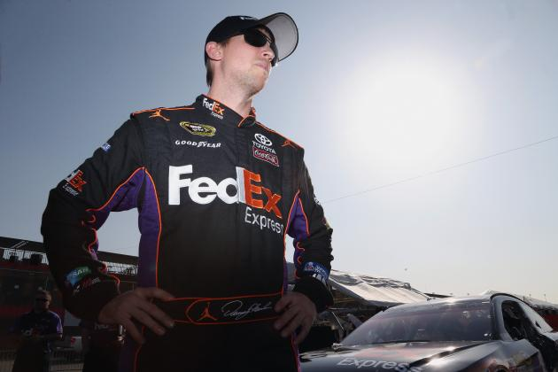 Denny Hamlin's Injury Forced Him to Lay Down
