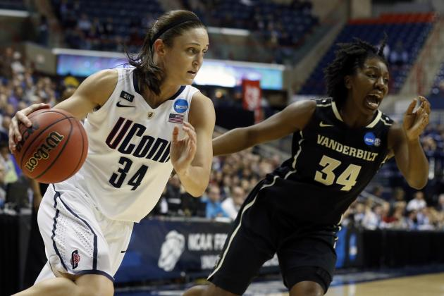 No. 1-Seed UConn Women Use 17-0 Run to Roll over 8-Seed Vanderbilt