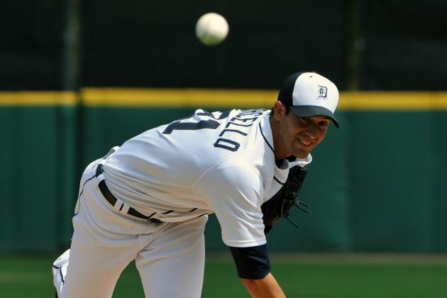 Report: Rick Porcello Wins Fifth Spot in Detroit Tigers' Rotation