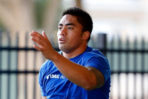 Manti Te'o Runs Unofficial 4.71 at Pro Day