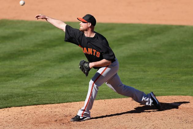 Giants Add RHP Gaudin to Opening Day Roster