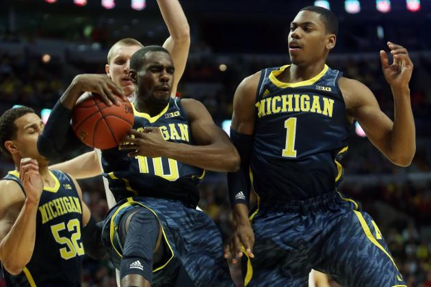 Jordan Morgan Lost in Michigan's Frontcourt Mix