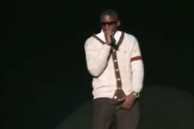 "Oladipo Once Sang Usher's ""U Got It Bad"" to an Auditorium Full of Fans"