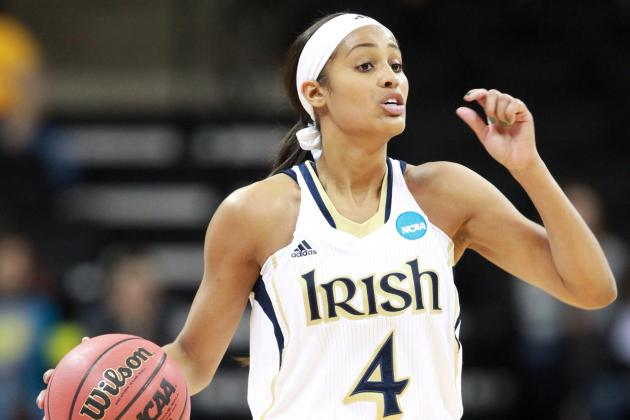 Spotlight Shines on Notre Dame's Diggins