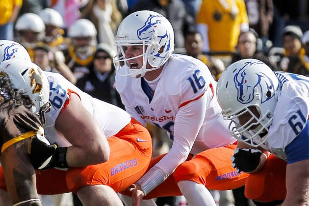 Boise State's Young O-Line Looks to Step Up