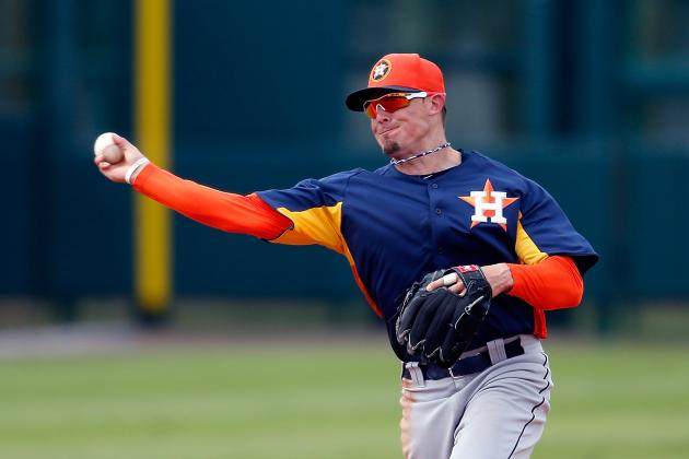 Astros Release Tyler Greene