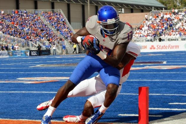 Boise State WR Geraldo Boldewijn 'can't Wait' for First Full Season