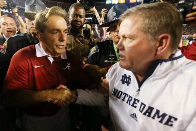Blowout Loss in BCS Aside, Notre Dame Is Closer to Title Than You Think
