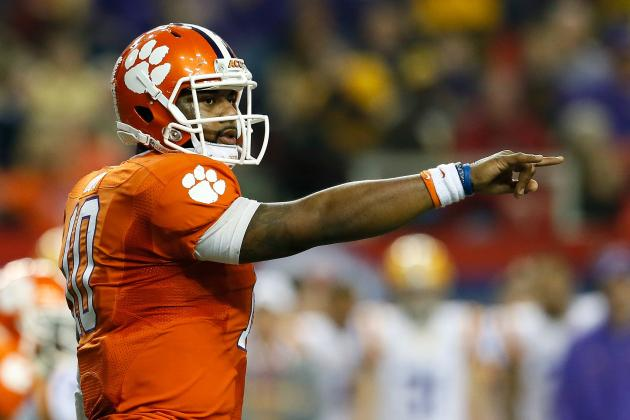 Camp for Tajh Boyd, Chad Kelly a Part of 'Joint Effort' at QB