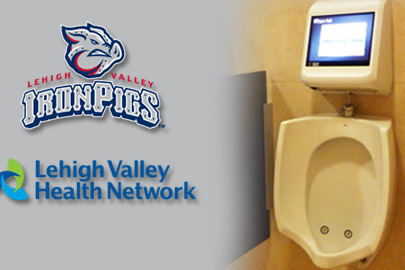 Minor League Team Brings Video Games to Urinals