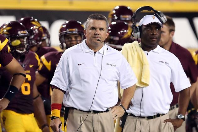 ASU Football Coach Todd Graham Speaks After Spring Practice