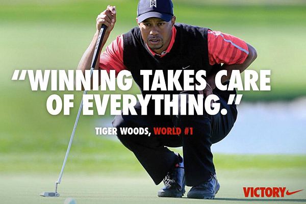 Nike, Tiger 'Winning' Online Ad Draws Critics